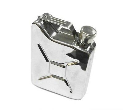 GASTANK DRINKING FLASK concert container liquor holder canteen STAINLESS STEEl