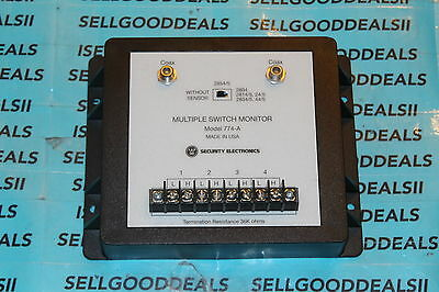 Westinghouse Security Electronics 774-A Multiple Switch Monitor 774A