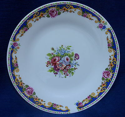 Richard Ginori Italian Porcelain Flower Bouquet Side Plate Italy China E-80