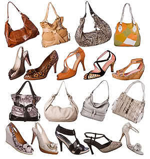 Simple Fashion Shoes and Handbags Auction Template