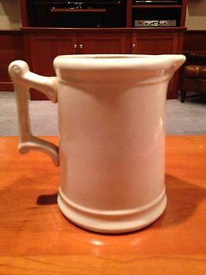 W. S. George White Granite Pitcher
