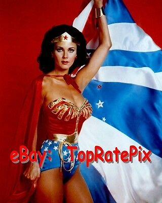LYNDA CARTER  -  Sexy Superhero: Wonder Woman  -  8x10 Photo #1
