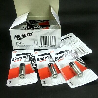 2 Pcs x Energizer A23 23A 12V Alkaline CAR Key Remote Battery Exp.2021 #Agtc