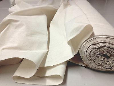 100% NATURAL COTTON CALICO LIGHT WEIGHT CRAFT FABRIC Sold Per METRE 152cm Wide