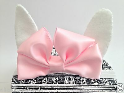 Baby Girl Headbands Bunny Ears With Bow Headband Newborn Toddler Girls Hairbows