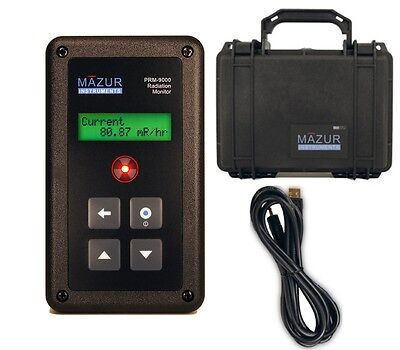 MAZUR INSTRUMENTS PRM-9000 + USB Data Cable - Hard Field Case  AUTHORIZED SELLER