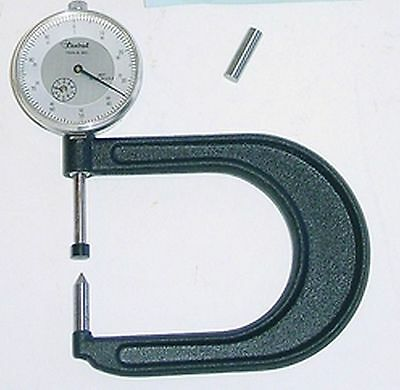 Central Tools 6302 The Indicaing Disc Brake Gauge,.300-1.300in Range Made in USA