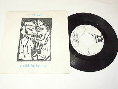 "ALBANIA ""COULD THIS BE LOVE"" disco 45 giri STIFF Italy 1982"