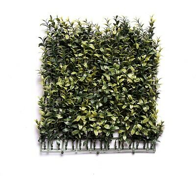 Best Artificial Premium 171 Stems Boxwood Topiary Side Mat Hedging Screening