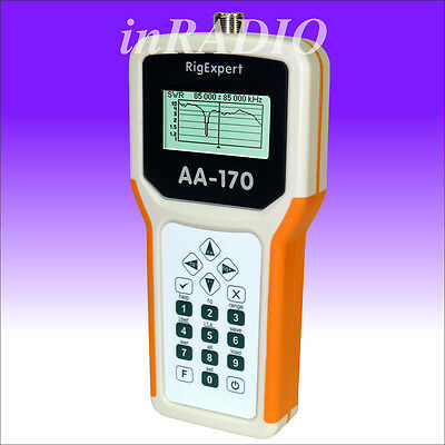 RigExpert AA-170 antenna analyzer 0.1-170MHz FAST DELIVERY 3years warranty AA170