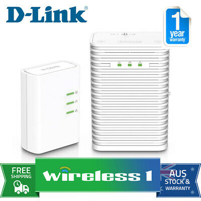 D-Link DHP-W313AV PowerLine AV500 Wireless AC600 Starter Kit