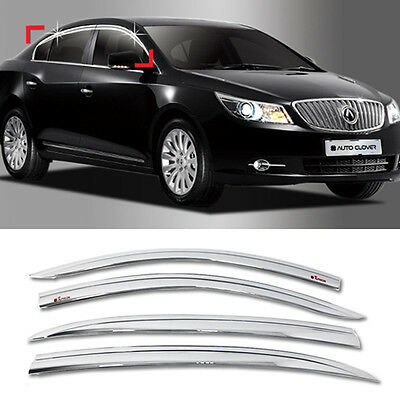 Outside Mount 2.0mm Rain Guards Visor Sun roof 5pcs For Hyundai Azera 2006-2011