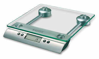 Salter Aquatronic Glass Electronic Digital 5kg Kitchen Scale 3003