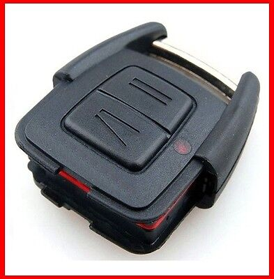 Fits Vauxhall Opel Astra G Zafira Vectra  C Remote Key Fob Case 2 Buttons