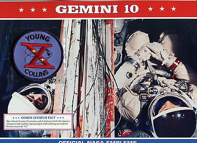Official Nasa Emblems Of America'S Great Space Missions - Gemini 10