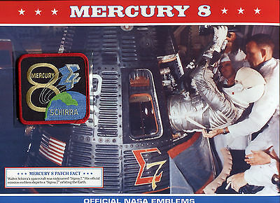 Official Nasa Emblems Of America'S Great Space Missions - Mercury 8
