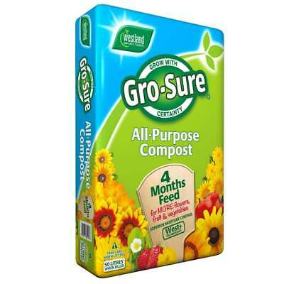 Westland Gro-Sure All Purpose Compost 50 Litre - Next Day Delivery