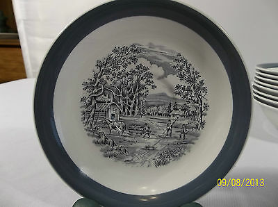 "Alfred Meakin Home in the Country 5 5/8"" Saucer"