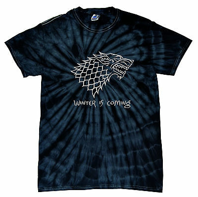 Game of Thrones House of Stark winter is coming black New T-shirt all sizes