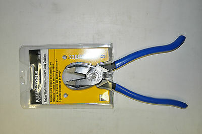Klein Tools Rebar Work Pliers - Heavy Duty Cutting 9 Inches Ironwork  D2000-9ST