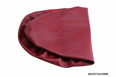 New red seat cover for vespa LX50 LX125 LX150