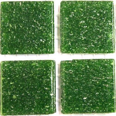 Vitreous Glass Mosaic Tiles 20mm - Olive Green