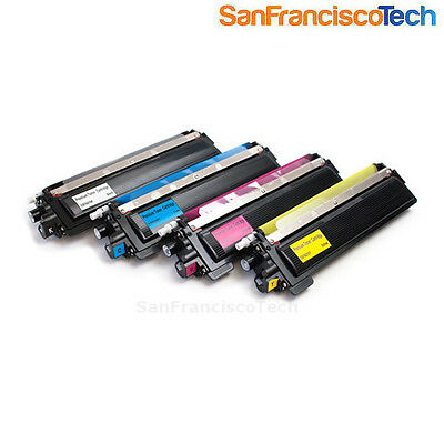 4 PK TN210 (Black Cyan Yellow Magenta) toner set NON-OEM FOR Brother MFC-9320CW