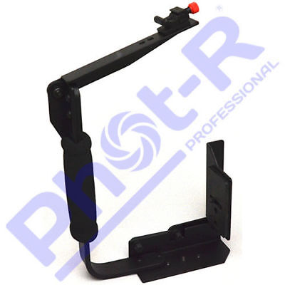 Phot-R Quick Flip Flash Bracket Grip Camera Holder Stand for Canon Nikon Sony