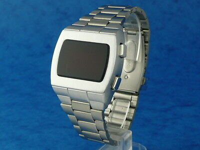 THE ELVIS WATCH 2 Old Vintage 1970s Style LED LCD DIGITAL Rare Retro Mens 12 24