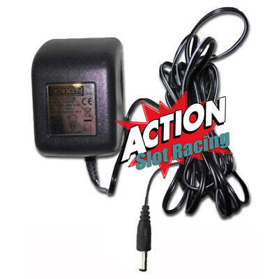 Micro Scalextric UK Plug G8025W Mains Power Supply 16v Transformer Adaptor IP40