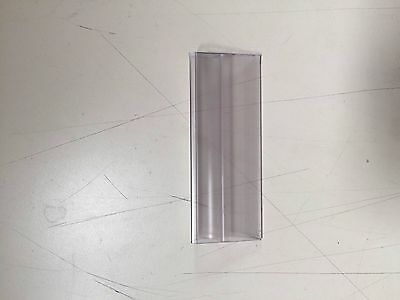 "25 Wire Rac Label Holder, Snap On,Top Load, Clear Plastic, 1 1/4"" x 4"",...3061-s"