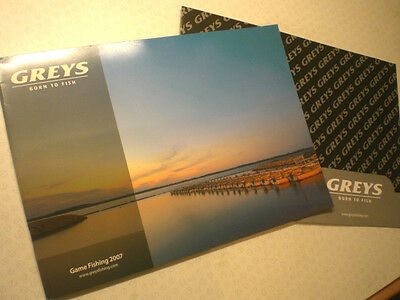 Greys Game Advertising Fishing Catalogue For 2007 With Price List