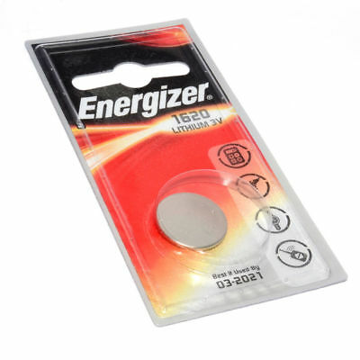 Energizer Cell Button Battery CR1620 3V 1 Pack [005016]