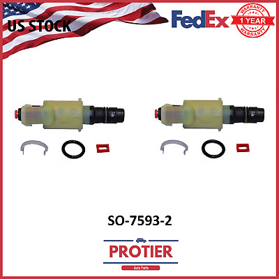 Front Suspension Solenoid 2PCS for 02-06 Ford Expedition F-150//Lincoln Navigator