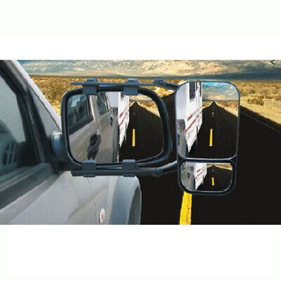 Towing Mirror Multi Fit 4wd Caravan Single Universal Heavy Duty Clip On Mh717
