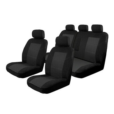 Custom Made Car Seat Covers Toyota Rav4 2/2013-On Deploy Safe Front & Rear