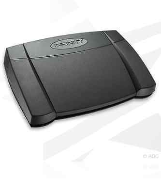 Infinity  IN-USB2 INUSB2 USB PC Transcription footpedal.