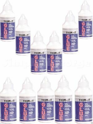 12 x Hi Tack Trim It Glue 60ml Bot , Fine Tip
