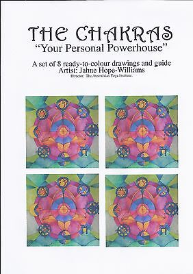 THE CHAKRAS - Your Personal Powerhouse (Drawn by Jahne Hope Williams)