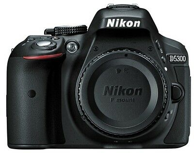 Nikon D Series D5300 24.2 MP Digital SLR Camera - Black - Body Only