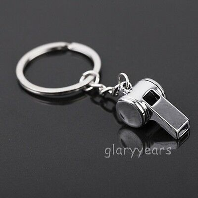 New Gift Key Chains Keychain Keyfob Keyring 3D Creative Whistle Cute Small