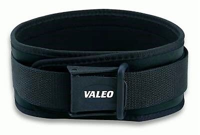 "Valeo Competition CLASSIC LIFTING BELT Memory Foam Support 6"" VCL Cross Training"