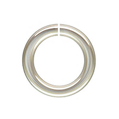 Wholesale,Sterling Silver Open Jump Rings,6mm All GaugesThicknesses Made in USA
