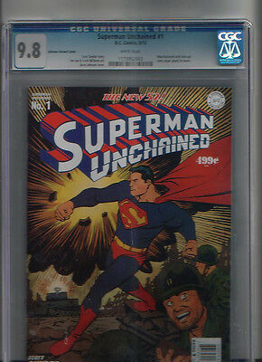 Superman Unchained #1 Golden Age Variant CGC 9.8
