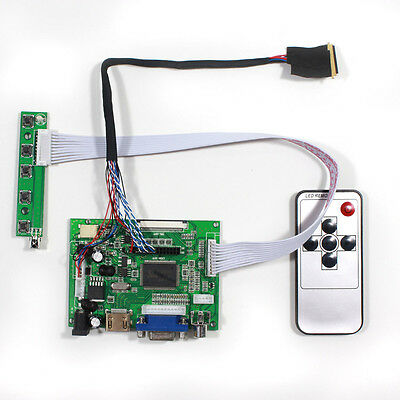 HDMI VGA 2AV LCD Driver board for 10.1Inch~16Inch 1366x768 40PIN LED LCD Panel