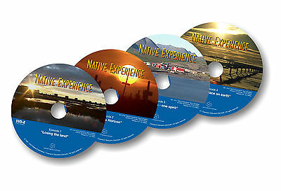 NATIVE EXPERIENCE - four part documentary DVD series about Native Alaska / ANCSA