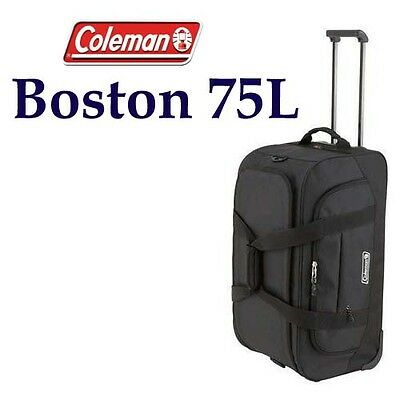 COLEMAN BOSTON 75 LITRE Trolley Wheeled Bag Luggage Wheely Handle Roller