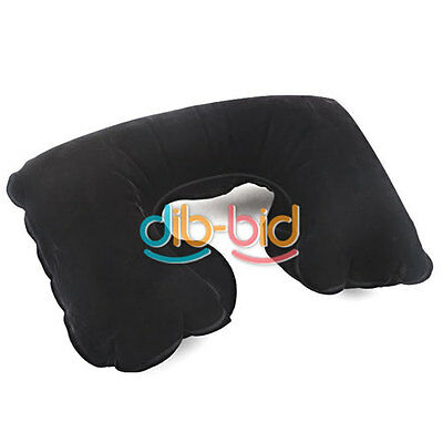 Air Cushion Inflatable Travel Pillow Neck U Shaped Rest Compact Plane DB