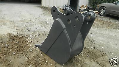"12"" pin on bucket built to fit kubota KX-161-2-3 excavator Guaranteed Fit"