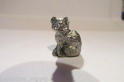 Pewter  Cat Figurine